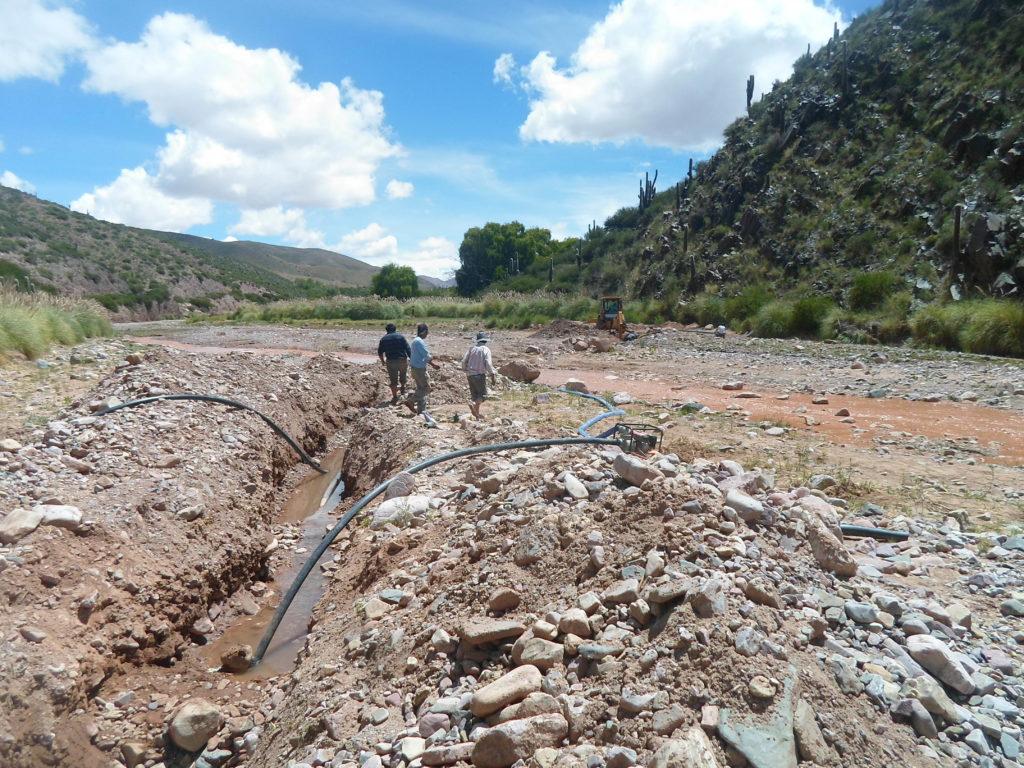 Obras en Chorrillos y El Churcal