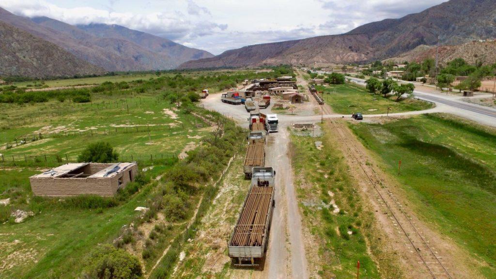 Recepción Rieles y Durmientes- Tren Jujuy La Quiaca