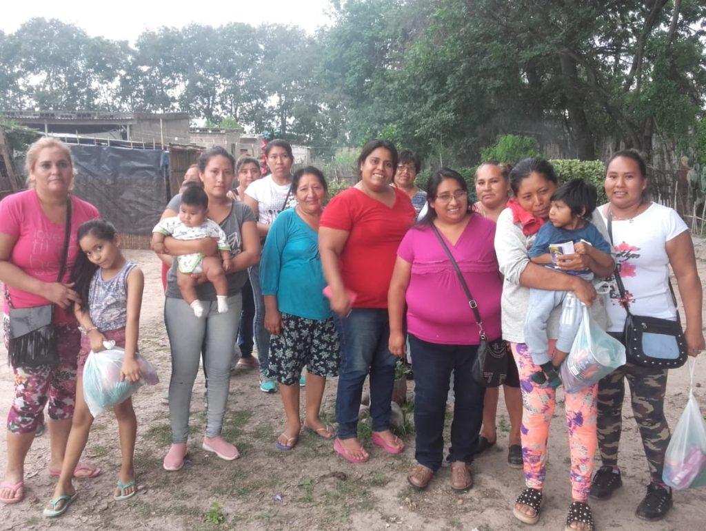 El equipo técnico de la Secretaría de Pueblos Indígenas visitó a comunidades aborígenes guaraníes.